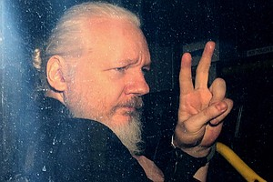 Photo for Julian Assange Arrested, Faces U.S. Charges Related To 2010 WikiLeaks Releases