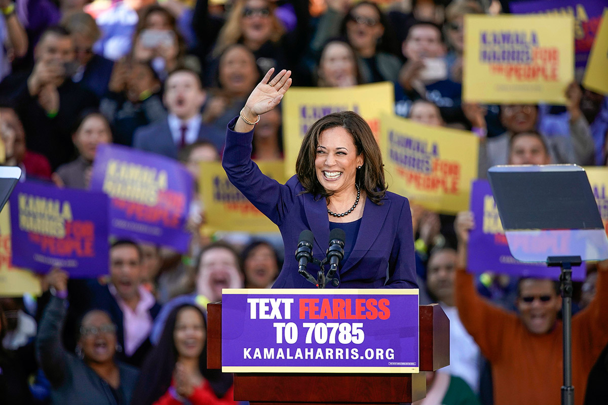 Kamala Harris Criminal Justice Reformer Or Defender Of The Status Quo The Record Is Mixed Kpbs