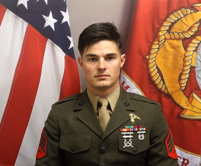Marine Staff Sgt. Joshua Braica, 29, died Sunday after being critically injur...