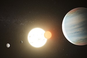 Photo for SDSU Astronomers Discover Third Planet In Two-Star Solar System