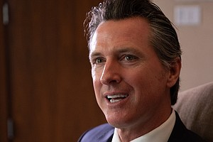 Gavin Newsom Filled His First 100 Days As California Gove...