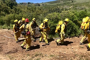 Firefighters Prepare For Summer Wildfire Season