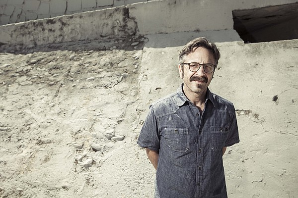 A promotional photo of comedian Marc Maron.
