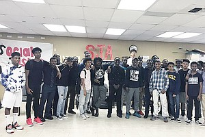 Photo for 'Brotherhood' At Hoover High Helps African American Male Students Succeed