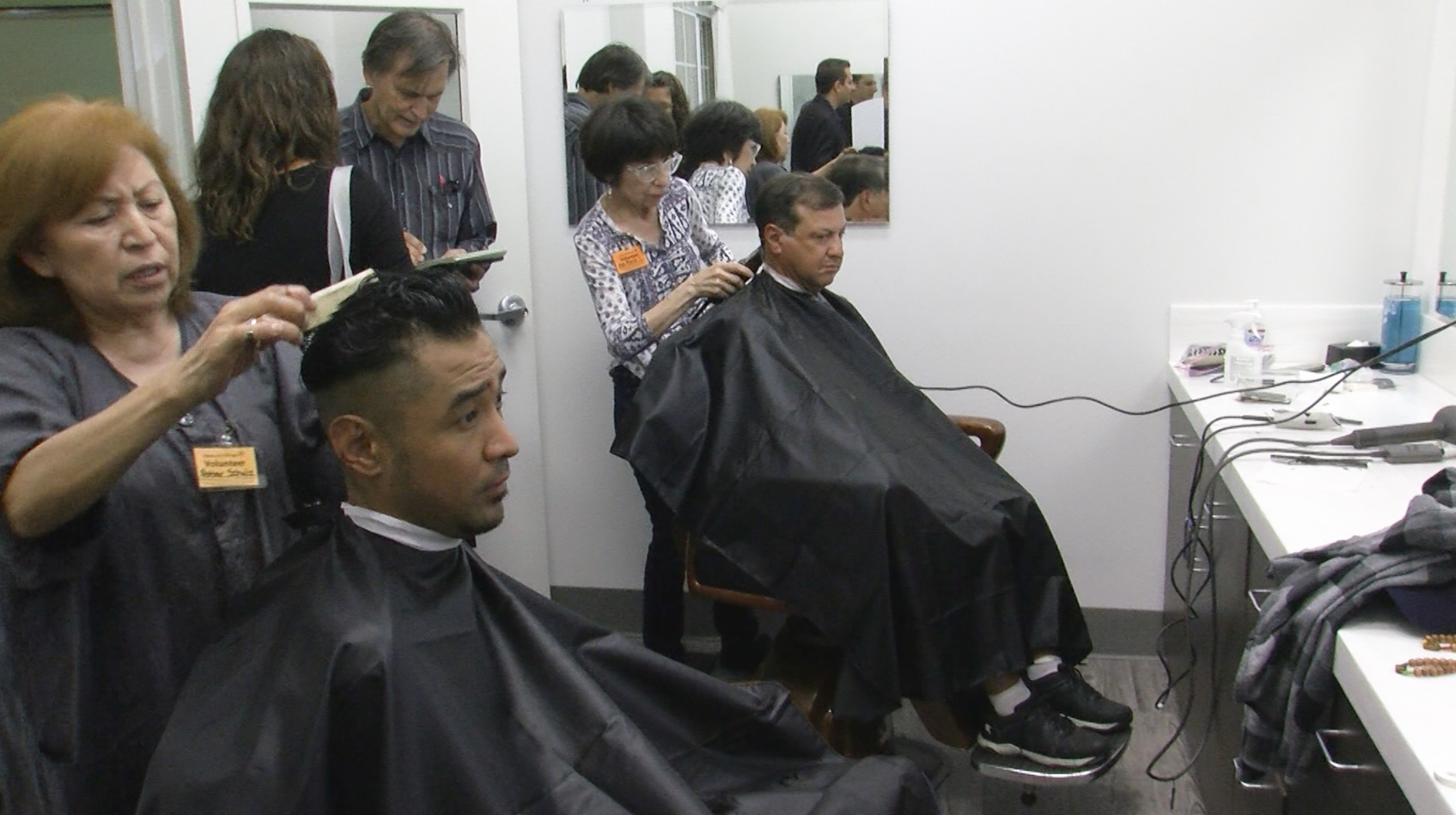 New Barbershop Provides Free Haircuts For The Homeless | KPBS
