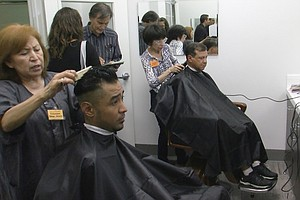 Photo for New Barbershop Provides Free Haircuts For The Homeless