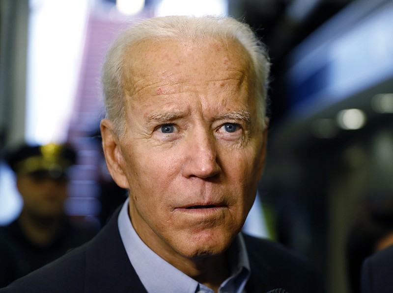 Former Vice President and Democratic presidential candidate Joe Biden arrives...