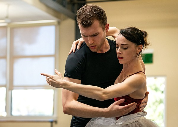 A 2019 photo from San Diego Ballet's