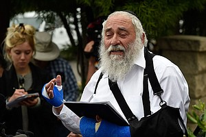 Photo for Rabbi Hurt In Poway Synagogue Shooting Admits Tax Fraud