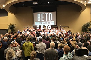 Beto O'Rourke Holds San Diego-Area Town Hall Discussion