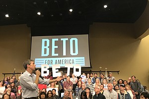 Beto O'Rourke Focuses On Border, Climate Change In San Di...