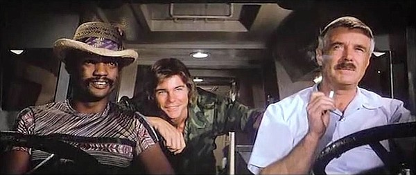 Paul Winfield, from left, Jan-Michael Vincent and George ...