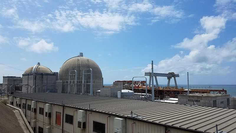 The San Onofre Nuclear Generating Station is pictured, April 16, 2019.