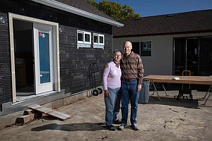 A California Couple Plans A New Home, In The Backyard