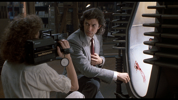 Jeff Goldblum plays scientist Seth Brundle in David Crone...