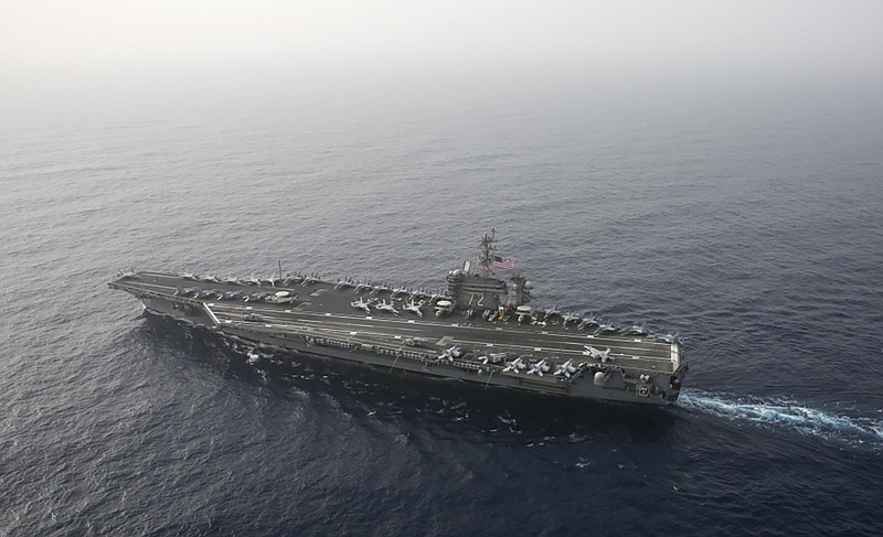 USS Abraham Lincoln Rushes To Middle East Over Unspecified ...