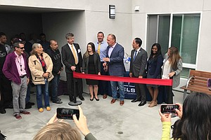 Alpha Project Celebrates Opening Of Apartments That House...