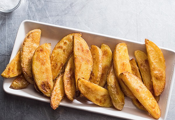 Thick-cut oven fries