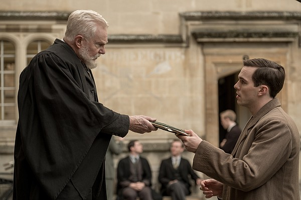 Derek Jacobi plays a professor who helps Nicolas Hoult's ...