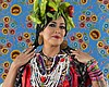 A 2019 promotional photo of musician Lila Downs.