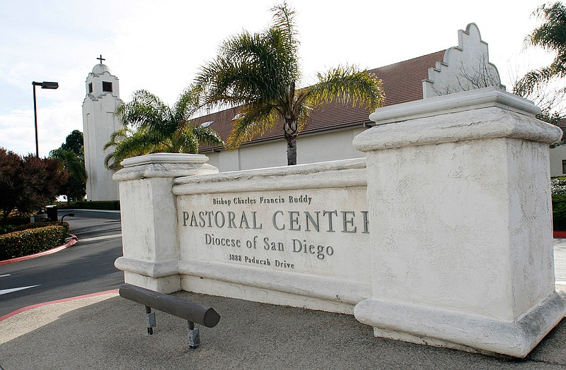 The San Diego Diocesan Pastoral Center, headquarters for the Roman Catholic C...