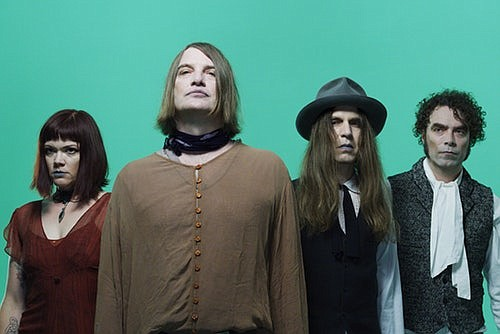 A 2019 promotional photo of The Dandy Warhols.