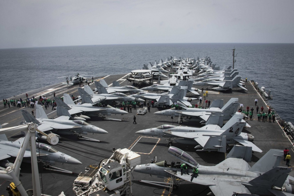 San Diego-Bound USS Lincoln On Last Leg Of Record-Breaking Deployment