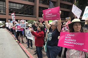 Abortion Rights Supporters Rally In San Diego To Protest ...