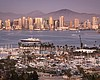 San Diego's skyline is shown in this undated ph...