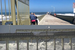 Ocean Beach Pier Reopens After Being Closed For Months