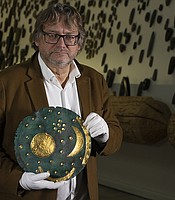 Director Harald Meller from State Museum for Prehistory. Halle (Saale), Germany.