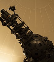 Star Projector at The George F. Beattie Planetarium, San Bernardino Valley College. San Bernardino, Calif.