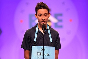 Photo for Poway Eighth-Grader Eliminated From National Spelling Bee