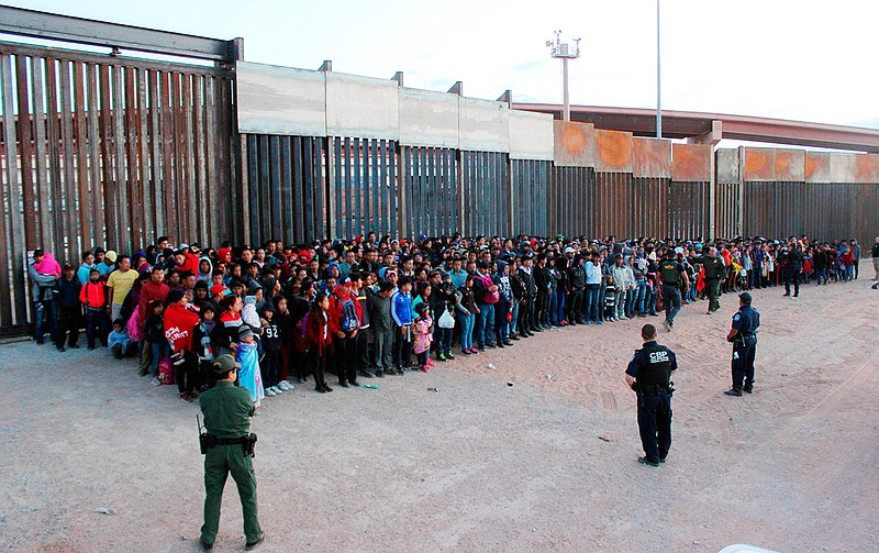 This May 29, 2019 photo released by U.S. Customs and Border Protection (CBP) ...