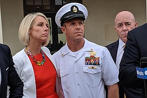 Photo for Combat Vets In Jury Pool For Decorated Navy SEAL's Trial