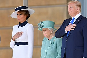 Trump Lands In U.K. For State Visit, And Insults London's...