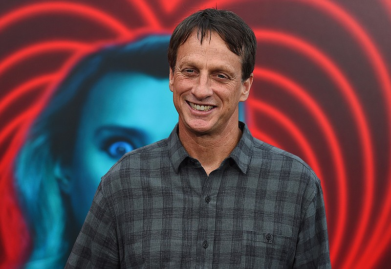 Tony Hawk at the world premiere of