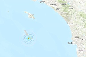 2 More Temblors Recorded At San Clemente Island Following...