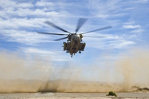 Photo for Midair Fire Forces Emergency Landing Of Miramar-Based Military Chopper