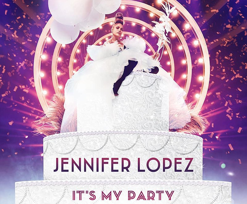 A 2019 promotional poster for Jennifer Lopez: It's My Party tour.