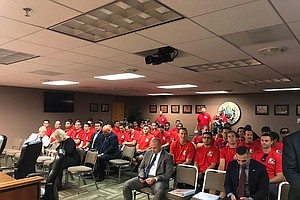 Photo for City Council Sides With Unions, Backs Effort To Strike Prop B From Charter
