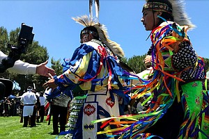 Photo for Inter-Tribal Pow Wow Lights Up San Luis Rey Mission
