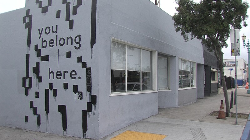 The You Belong Here coworking space in City Heights is pictured in this undat...