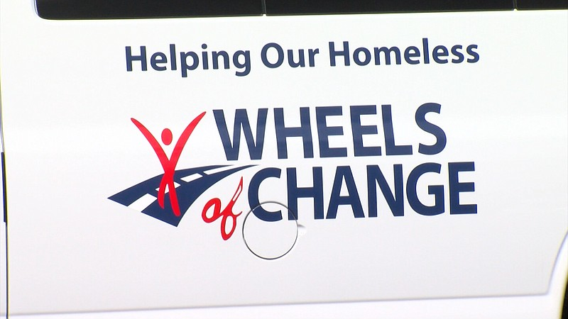 A Wheels of Change van is pictured in this undated photo.