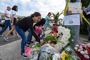 Photo for One-Year Anniversary Of Deadly Poway Synagogue Shooting Spurs Memorials