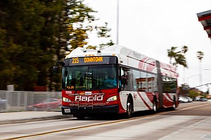 Photo for  $44 Million Mid-City Bus Rapid Transit Route Is Slower Than Route It Replaced