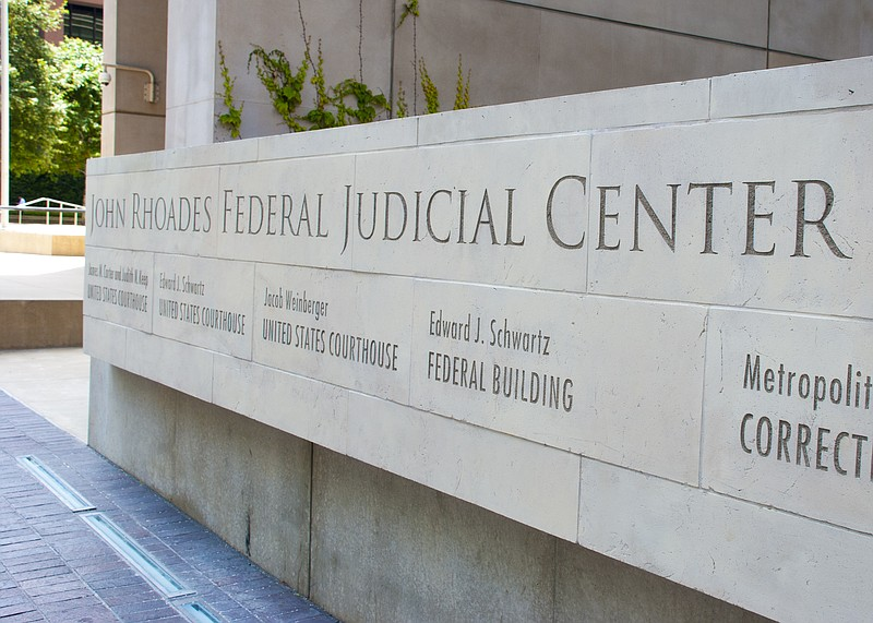 The John Rhoades Federal Justice Center in downtown San Diego, June 12, 2019.