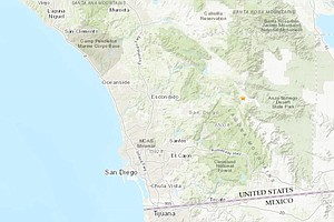 Small Quake Strikes Near Julian Early Wednesday Morning