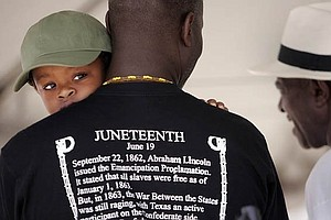 The Tradition Of Juneteenth Moves Forward As Talks Of Rep...