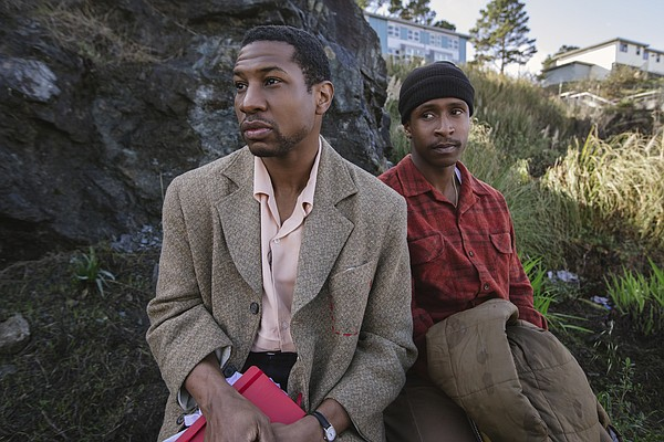 Mont (Jonathan Majors) and Jimmie (Jimmie Fails) navigate...